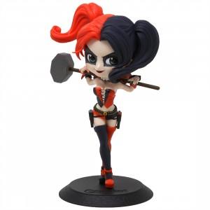 Banpresto Q Posket DC Comics Harley Quinn Figure - Ver A (red / navy)
