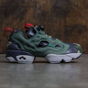 Reebok Men Instapump Fury OG Villains (black / primal green / baseball grey / scarlet / silver metallic)