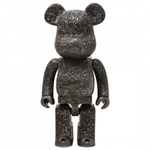 Medicom Royal Selangor Arabesque Black 400% Bearbrick Figure (black)