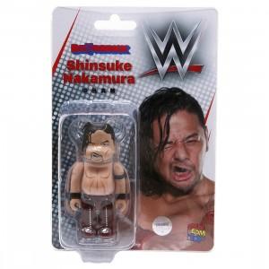 Medicom Last Man Standing Shinsuke Nakamura 100% Bearbrick Figure (tan)
