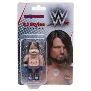 Medicom Last Man Standing AJ Styles 100% Bearbrick Figure (tan)