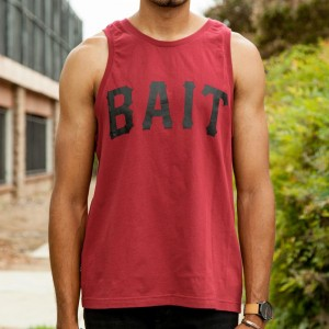 BAIT Men Core Tank Top (burgundy)