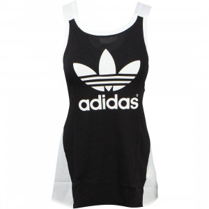 Adidas Women Couture Tank Top (black / off  white / lush pink)
