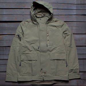 Adidas Consortium Day One Men Utility Jacket (green / parka green)