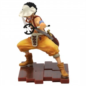 Bandai Figuarts Zero One Piece King Of Snipers Usopp Figure (yellow)