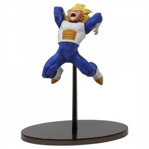 Banpresto Dragon Ball Super Chosenshi Retsuden Vol. 1 Super Saiyan Vegeta Figure (blue)