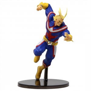 Banpresto My Hero Academia The Amazing Heroes Vol 5 All Might Figure (blue)