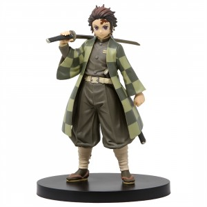 Banpresto Kimetsu no Yaiba Figure Vol. 2 Tanjiro Kamado (green)