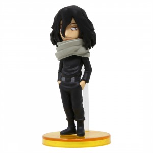 Banpresto My Hero Academia World Collectable Figure Vol. 2 - 09 Shota Aizawa (black)