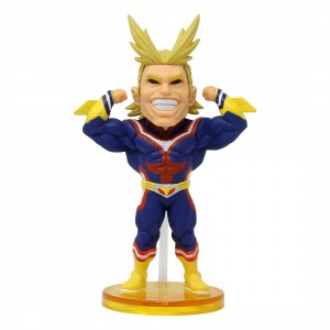 Banpresto My Hero Academia World Collectable Figure Vol. 1 - 02 All Might (blue)