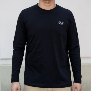 BAIT Men Core Long Sleeve Tee (black)
