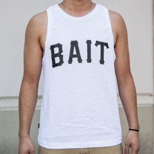 BAIT Men Core Tank Top (white)