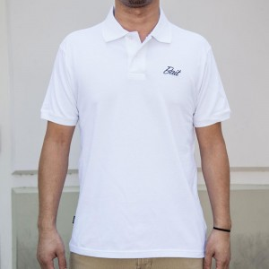 BAIT Men Core Polo Shirt (white)