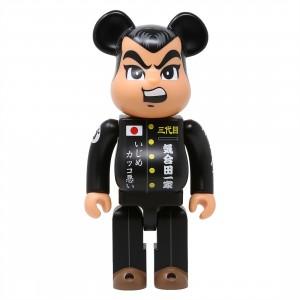 Medicom Goccodo Kiaidakun 400% Bearbrick Figure (black)