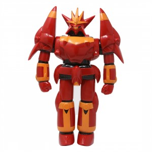 Medicom Dynamite Collection Gunbuster Flame Ver. Sofubi Figure (red)