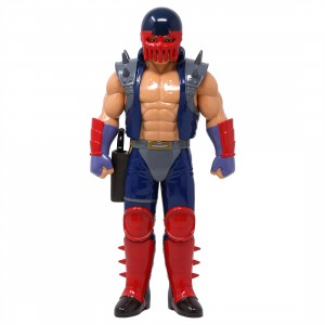 Medicom Fist Of The North Star Jagi Blue Version Sofubi Figure (blue)