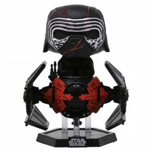 Funko POP Deluxe Star Wars The Rise Of Skywalker Supreme Leader Kylo Ren In The Whisper (black)