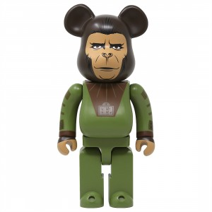Medicom Planet Of The Apes Cornelius 400% Bearbrick Figure (green)
