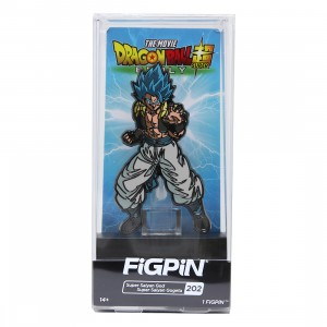 FiGPiN Dragon Ball Super Broly Movie Super Saiyan God Super Saiyan Gogeta #202 (blue)