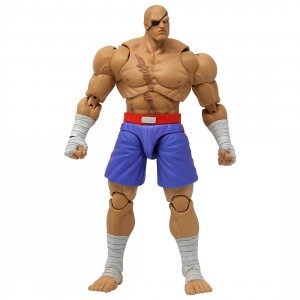 Storm Collectibles Ultra Street Fighter II The Final Challengers Sagat 1/12 Action Figure (brown)