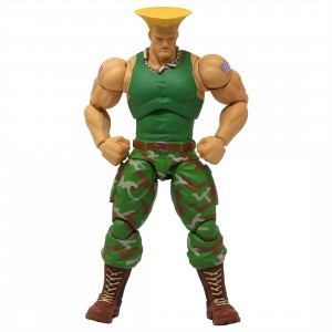 Storm Collectibles Ultra Street Fighter II The Final Challengers Guile 1/12 Action Figure (green)