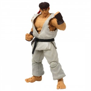 Storm Collectibles Ultra Street Fighter II The Final Challengers Ryu 1/12 Action Figure (white)