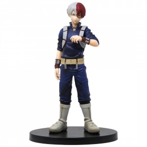 Banpresto My Hero Academia Age of Heroes Vol. 4 Shoto Todoroki Figure (blue)