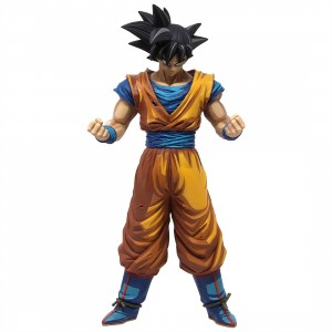 Banpresto Dragon Ball Z Grandista Manga Dimensions Son Goku #2 Figure (orange)