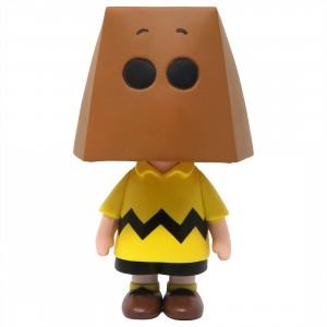 Medicom UDF Peanuts Series 10 Charlie Brown Grocery Bag Ver Ultra Detail Figure (brown)
