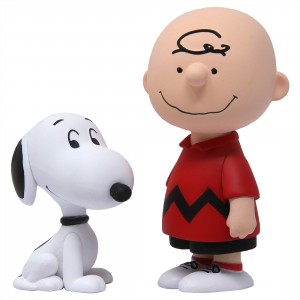 Medicom UDF Peanuts Series 10 Charlie Brown And Snoopy Ultra Detail Figure (red)
