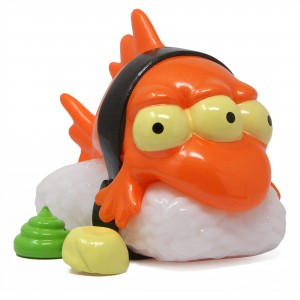 Kidrobot x The Simpsons Blinky the Fish Nigiri 3 Inch Figure (orange)