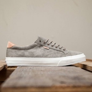 Vans Men Court Plus - Washed Canvas (green / covert)