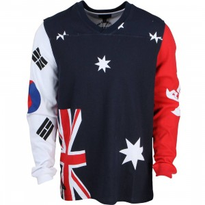 10 Deep Men World Team Jersey (blue / white)