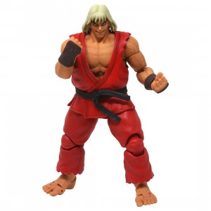 Storm Collectibles Ultra Street Fighter II The Final Challengers Violent Ken 1/12 Action Figure (red)