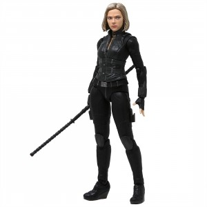 Bandai S.H.Figuarts Avengers Infinity War Black Widow And Tamashii Effect Explosion Figure (black)