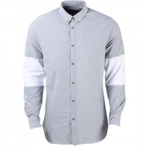 Zanerobe Men Cutoff 7Ft Shirt (gray / white)