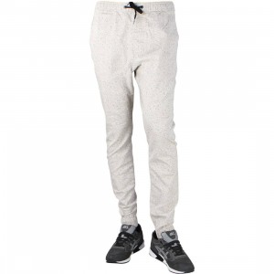 Zanerobe Men Speckle Sureshot Jogger Pants (taupe)