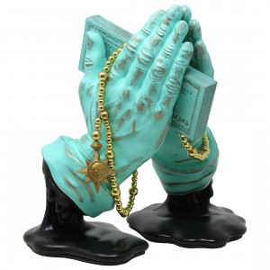 Kidrobot Frank Kozik Let Us Prey Figure (green / patina)
