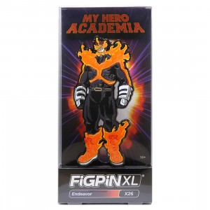 FiGPiN XL My Hero Academia Endeavor #X26 (orange)