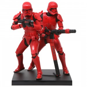 Kotobukiya Star Wars The Rise Of Skywalker Sith Trooper Two Pack ARTFX+ Statue (red)
