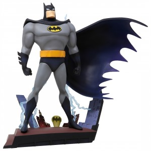 Kotobukiya Batman Animated Series Batman Opening Sequence Ver. ARTFX+ Statue (gray)