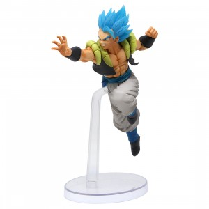 Bandai Ichiban Kuji Dragon Ball Super Saiyan God SS Gogeta Figure (blue)