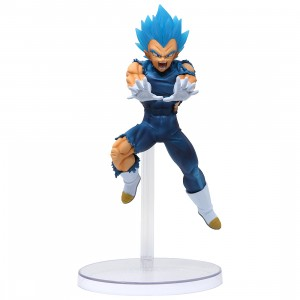 Bandai Ichiban Kuji Dragon Ball Super Saiyan God SS Vegeta Figure (blue)