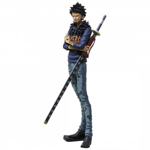Banpresto One Piece Grandista Manga Dimensions Trafalgar Law Figure (blue)