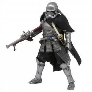 Bandai Meisho Movie Realization Star Wars Ashigaru Taisho Captain Phasma Figure (silver)