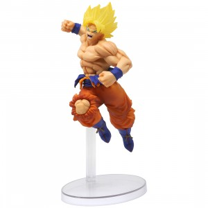 Bandai Ichiban Kuji Dragon Ball Super Saiyan Son Goku 93 Figure (yellow)