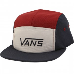 Vans Davis 5 Panel Hat (blue / dress)