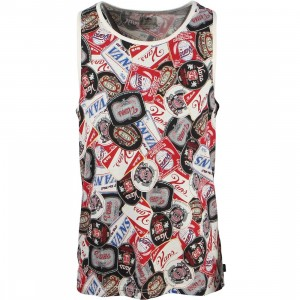 Vans Men Grimes Tank Top (black / beer belly)