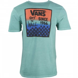 Vans Men Checked In Tee (blue / canton)