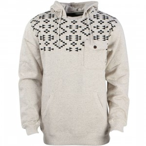 Vans Men Robley Sweater (brown / oatmeal heather)
